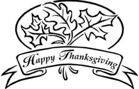 Thanksgiving coloring pages 2018