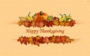 happy Thanksgiving wallpapers 2018