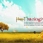 Happy Thanksgiving Greetings 2017