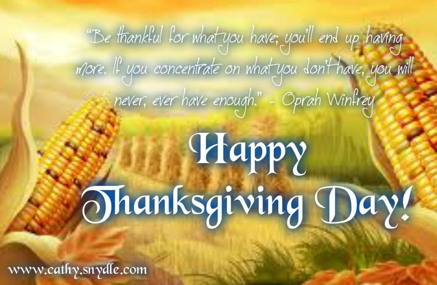 Happy Thanksgiving Greetings 2018