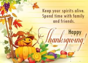 Happy Thanksgiving Wishes 2018