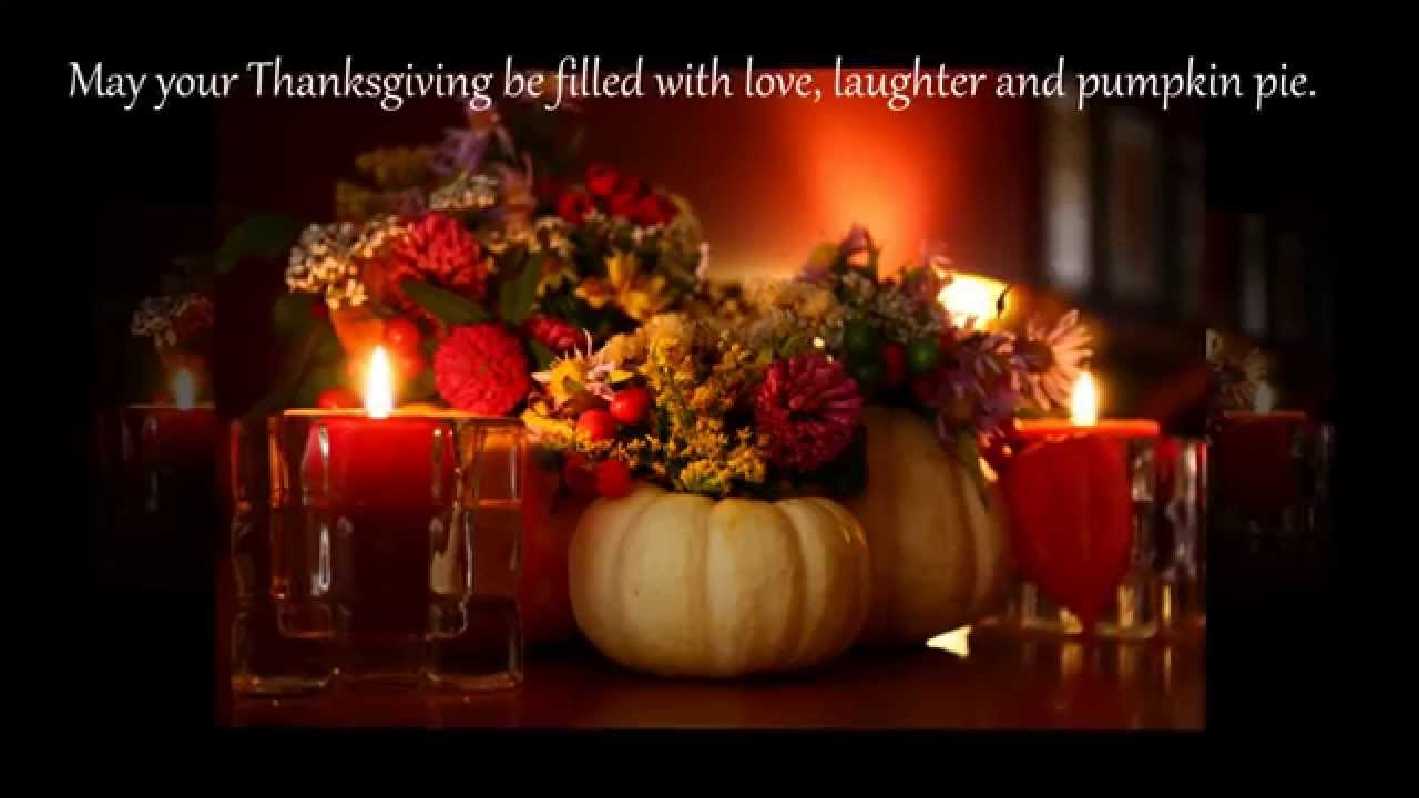 Thanksgiving Wishes 2018