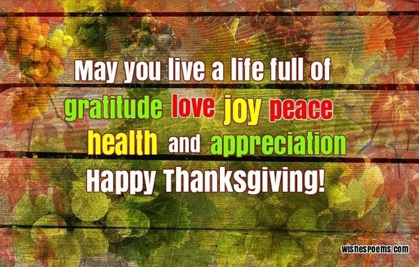 Thanksgiving day greetings 2018