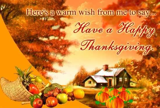 Thanksgiving wish