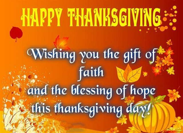 Thanksgiving wishes for facebook