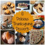 Happy Thanksgiving Desserts 2017
