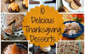 Happy Thanksgiving Desserts 2018