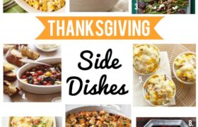 Happy Thanksgiving Side Dishes 2018