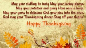 Thanksgiving Messages For Family