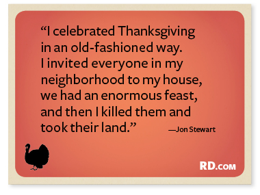 Thanksgiving funny quotes
