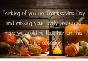 Thanksgiving text messages