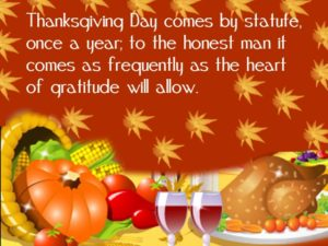 Advance Happy Thanksgiving Greetings 2018