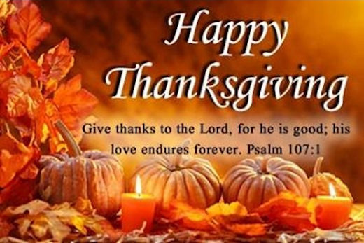 Advance Thanksgiving Quote