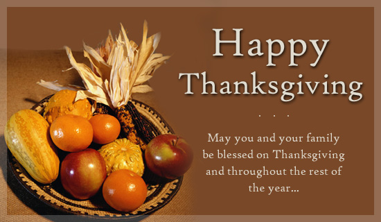 Advance Thanksgiving Wish