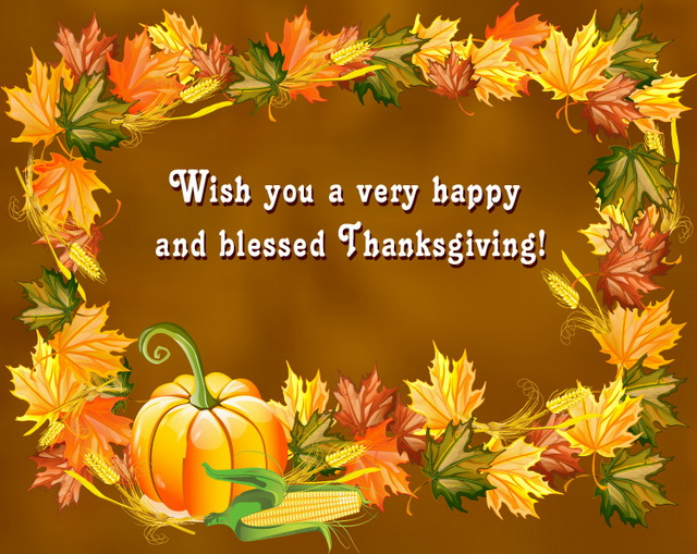Advance Thanksgiving Wishes 2017
