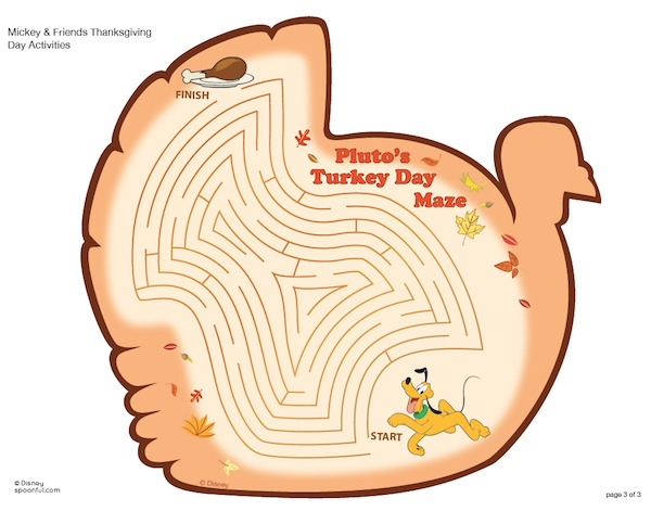 Cute Thanksgiving kindergarten worksheets