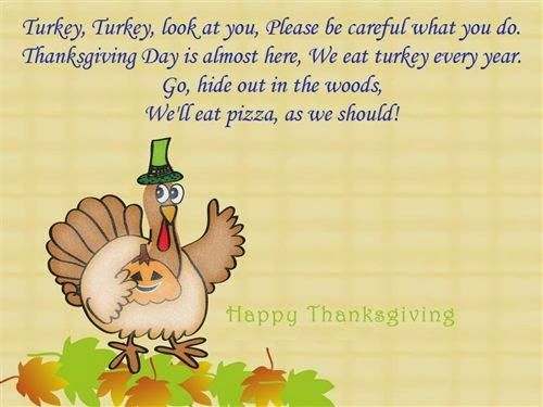 Funny Thanksgiving Poems 2020