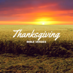 Happy Thanksgiving Bible Verses 2017