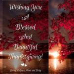 Happy Thanksgiving Blessings 2017