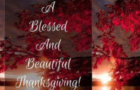 Happy Thanksgiving Blessings 2018