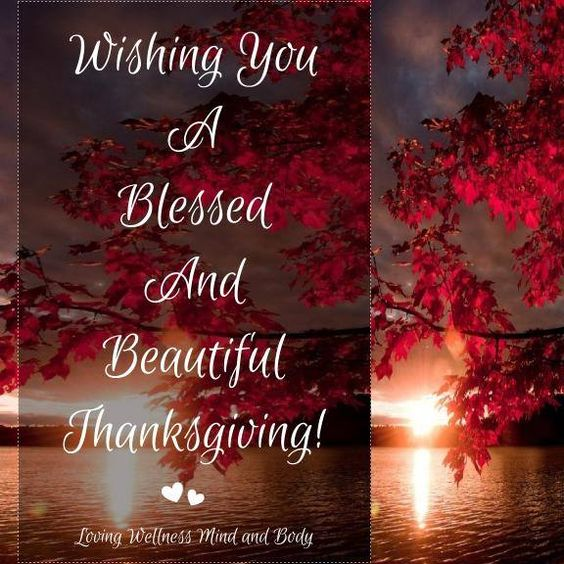 Happy Thanksgiving Blessings 2020
