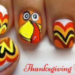 Happy Thanksgiving Nails 2017