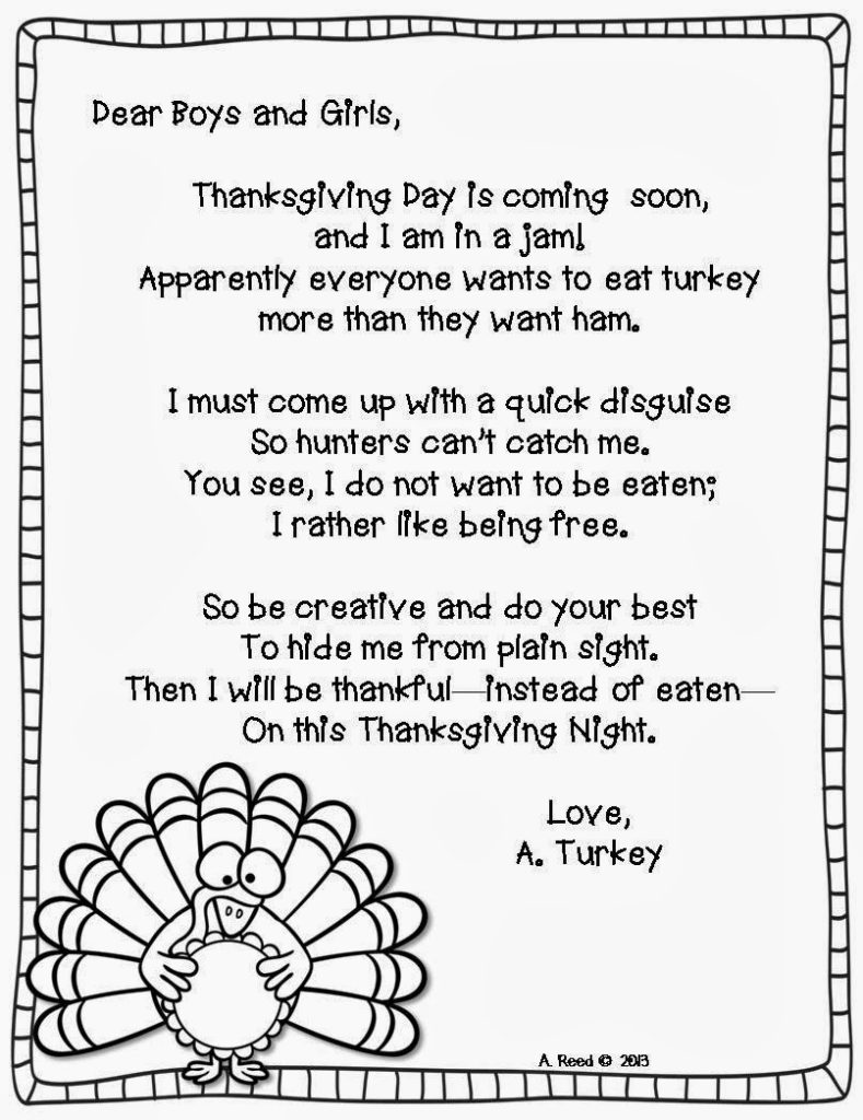 Happy Thanksgiving Poem For KidsHappy Thanksgiving Poem For Kids