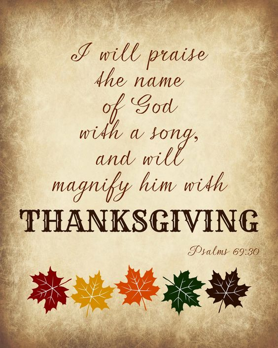 Happy Thanksgiving Prayer 2018
