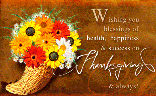 Happy Thanksgiving Wishes In Advance