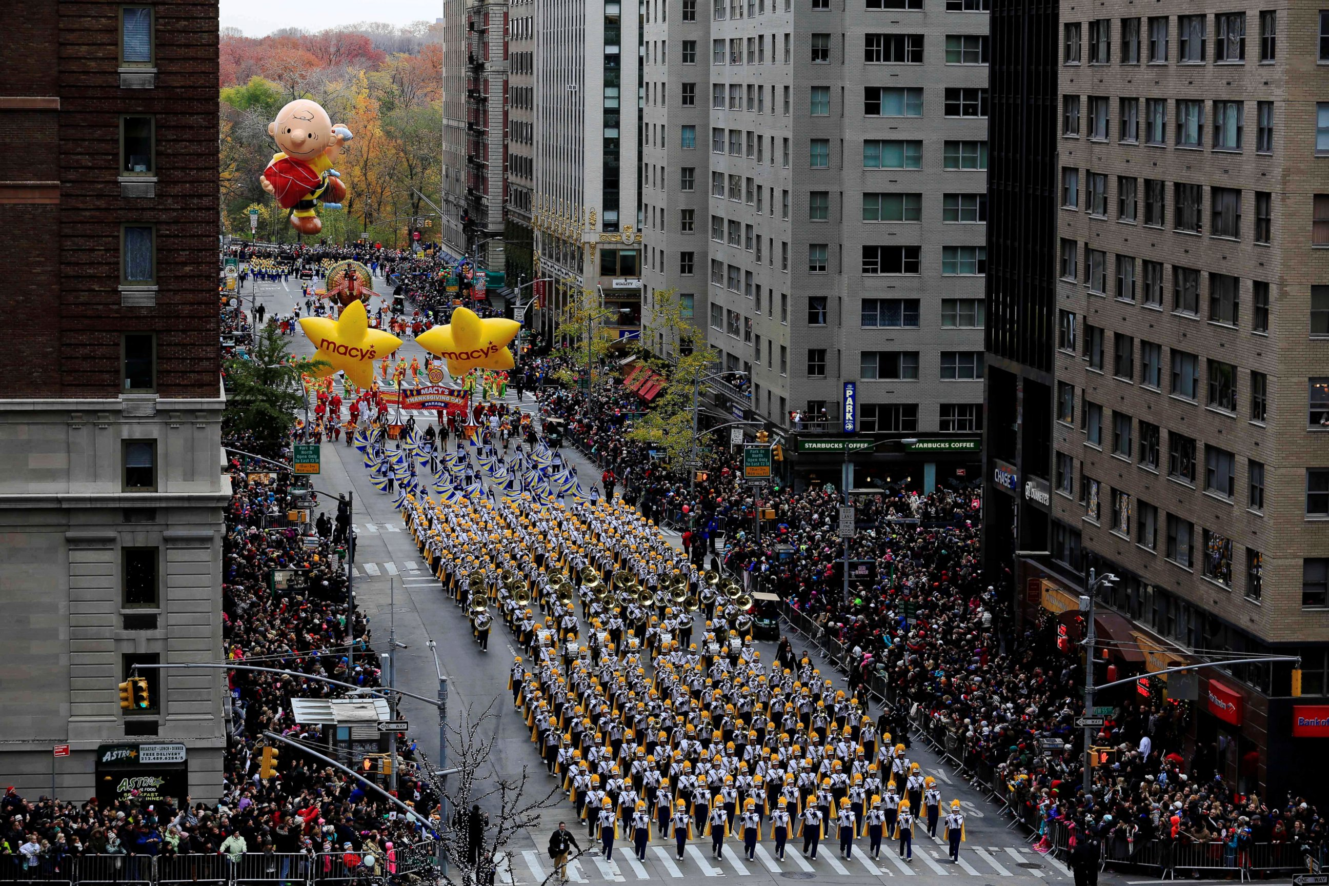 Macy Thanksgiving day parade