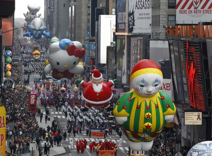 Macy's Thanksgiving day parade images