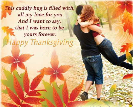 Romantic Thanksgiving love quotes