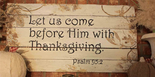 Thanksgiving Bible Verse Wallpapers
