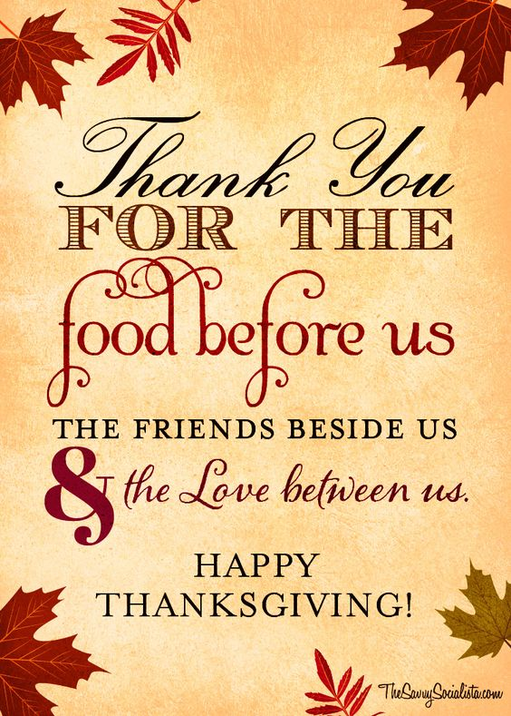 Thanksgiving Blessing 2018