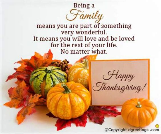 Thanksgiving Blessings 2018