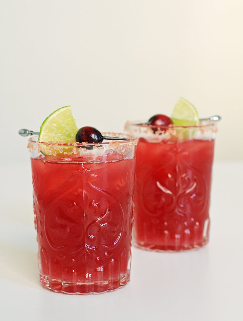 Thanksgiving Cocktail Recipes - Cranberry Margarita