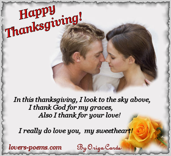 Thanksgiving Love Poems For Facebook