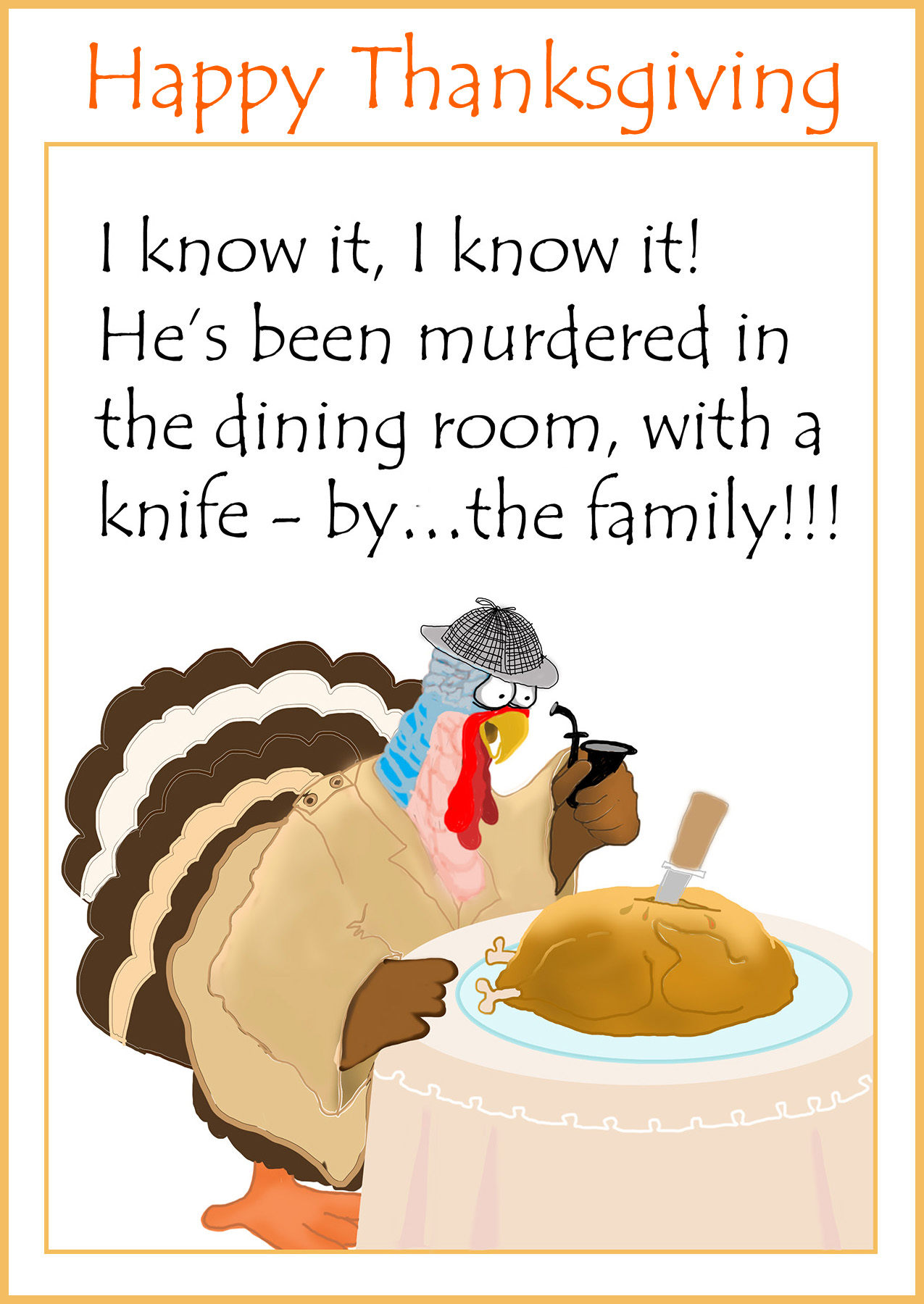 Thanksgiving Poems funny