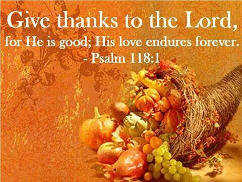 Thanksgiving dinner prayer blessing