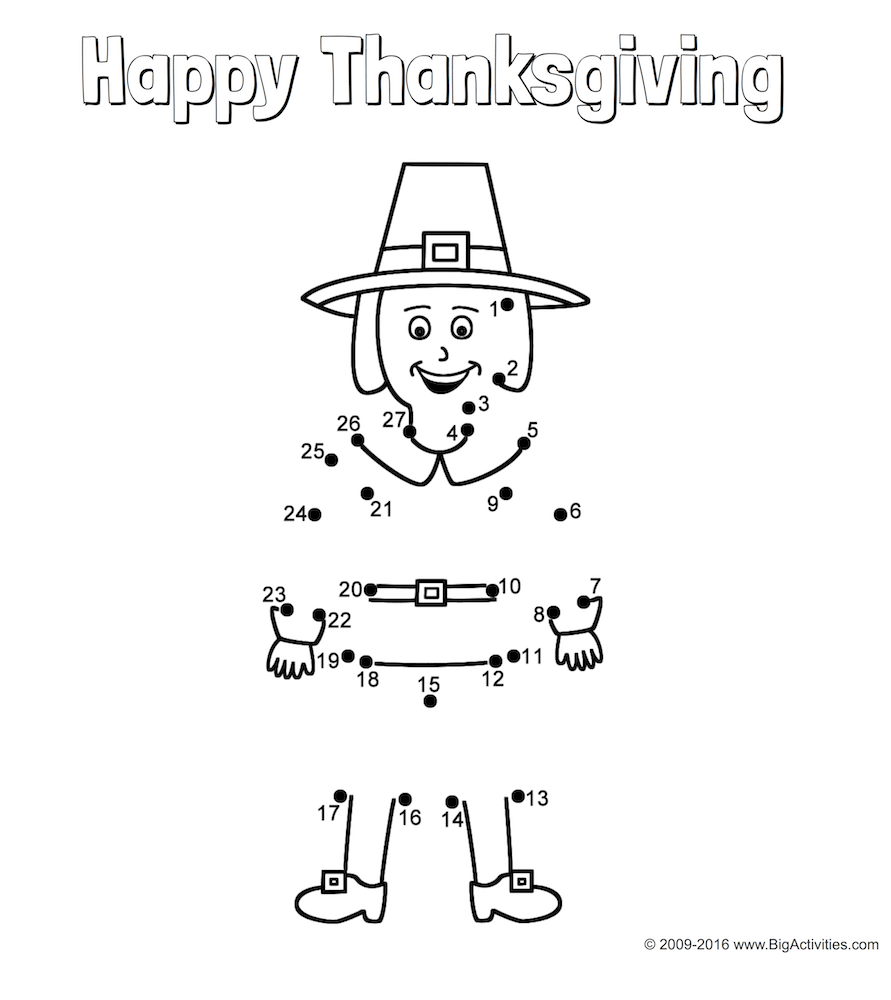 Thanksgiving number worksheets