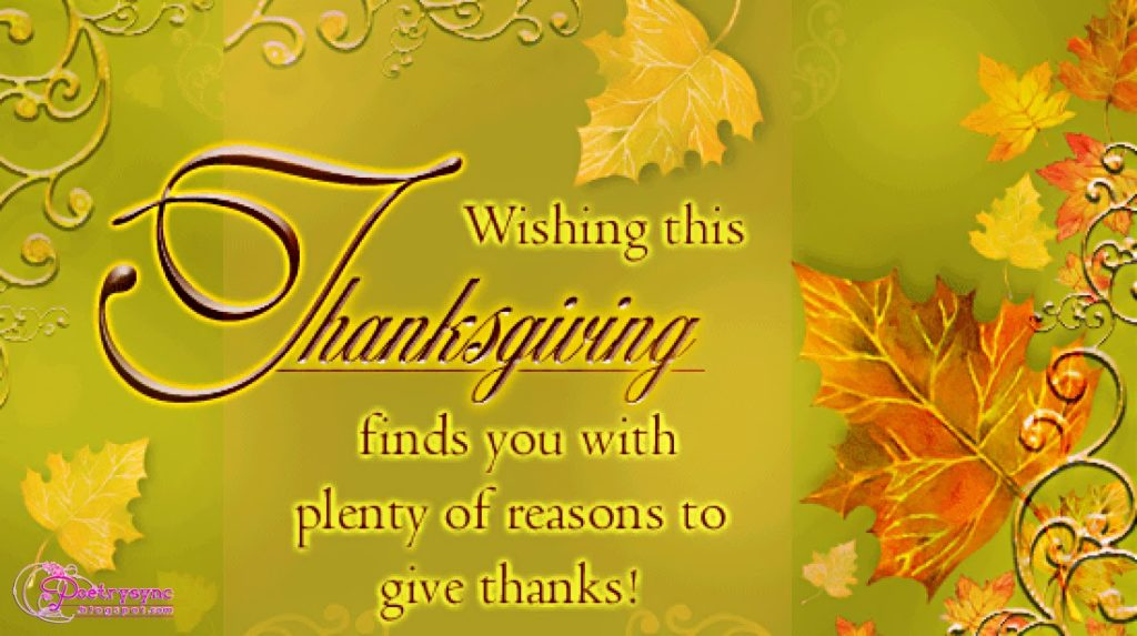 Thanksgiving sayings for Cards