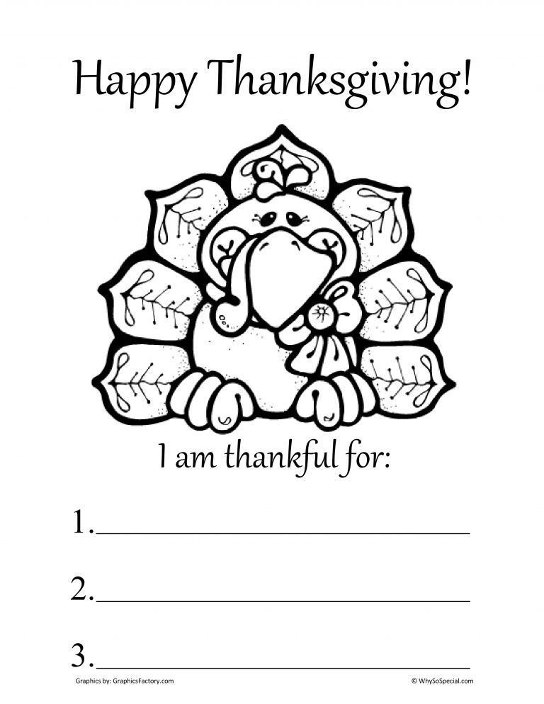 Thanksgiving worksheets for kindergarten