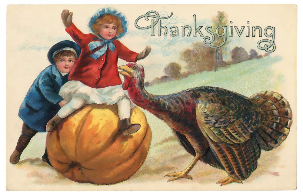 Vintage Thanksgiving photo free To Download