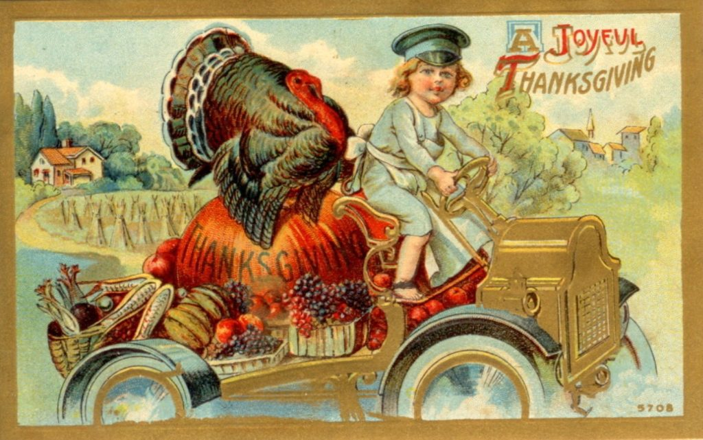 Vintage Thanksgiving photos