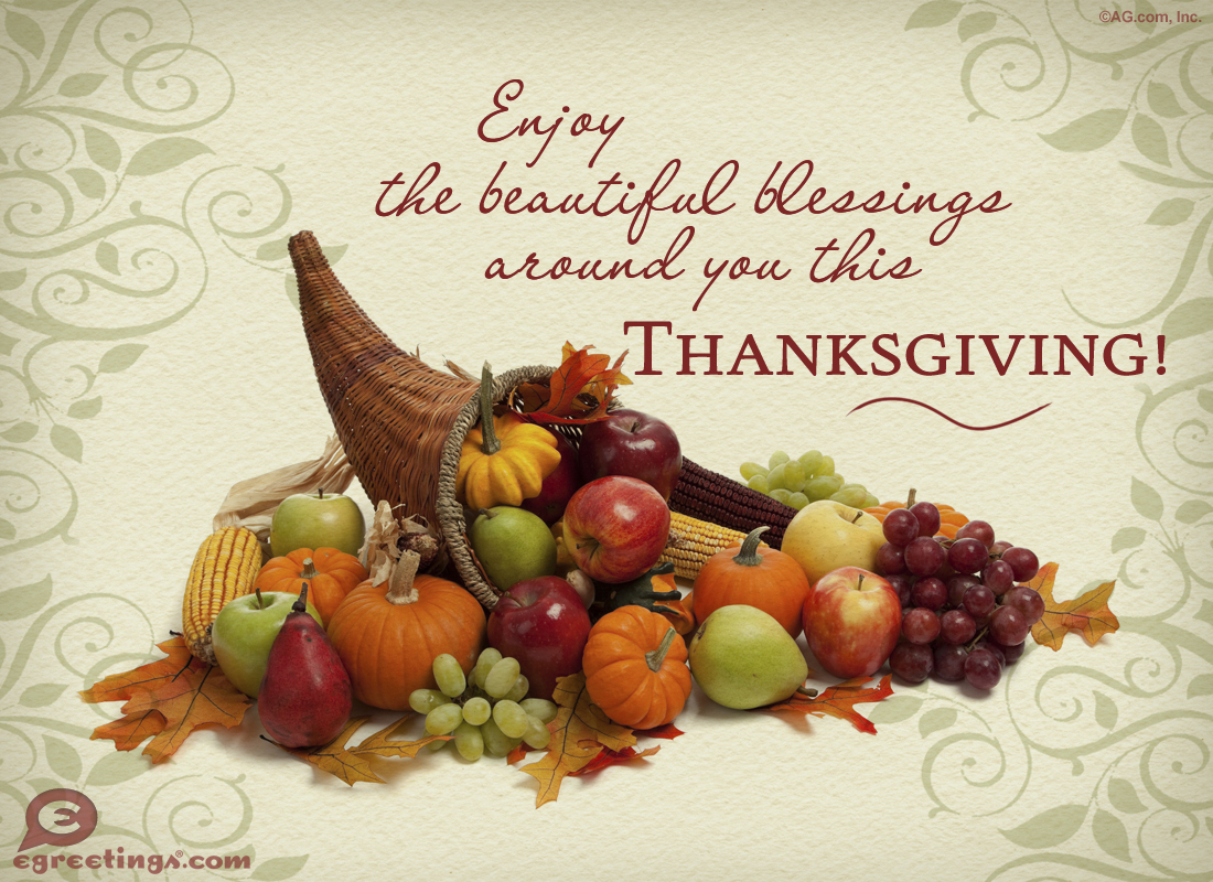 blessed Thanksgiving quotes