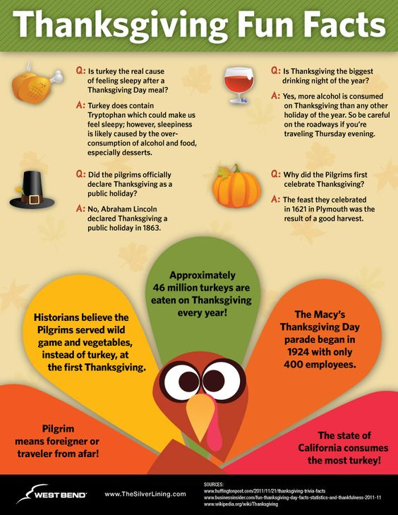funny Thanksgiving trivia