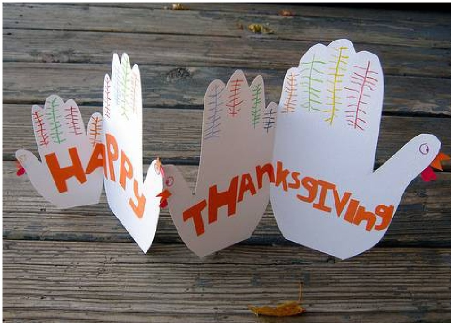 homemade Thanksgiving Cards