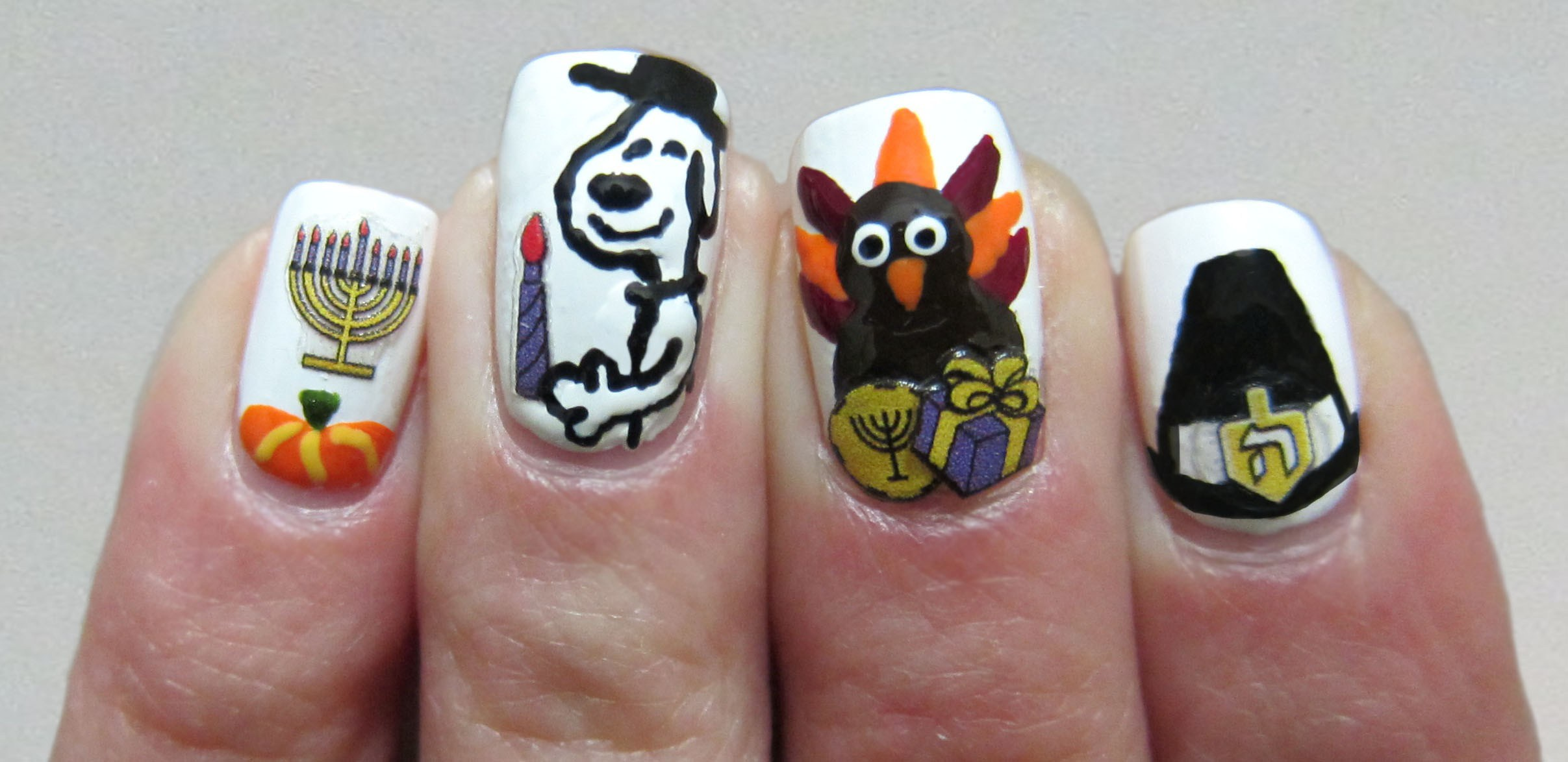 nails for Thanksgiving 2020