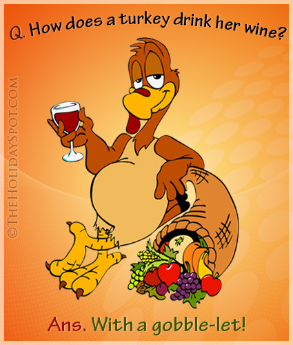 Thanksgiving Turkey Jokes