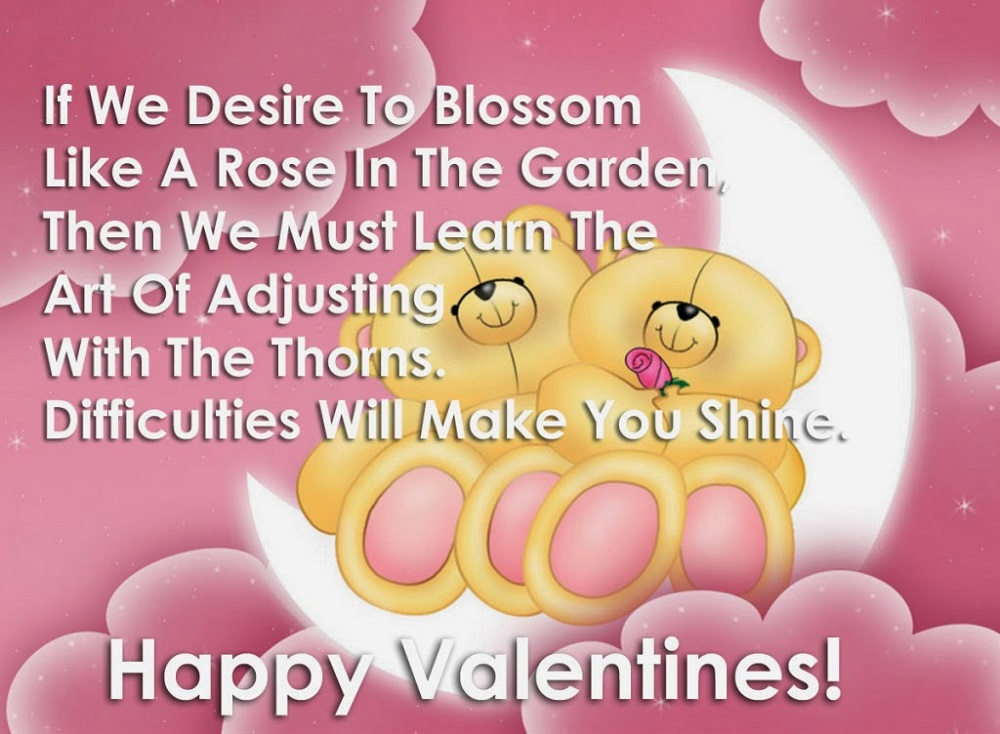 happy valentines day wishes for GF